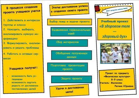 буклет здоровый образ жизни для школьников картинки